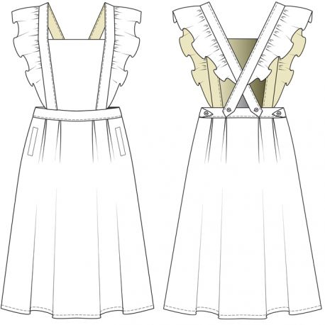 19th of January  Overalls Skirt