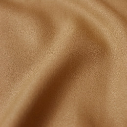 Crepe Ochre Fabric Remnants