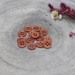 Bliss Buttons - Chestnut