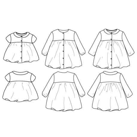 Stockholm Blouse & Dress (6 months - 4 years)