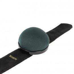 Bracelet ajustable porte épingles vert