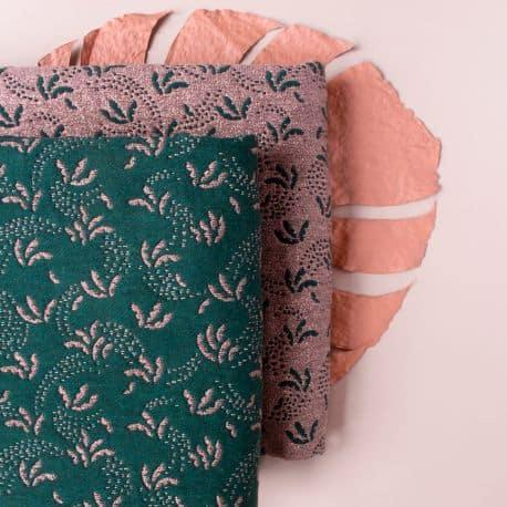 """Tissu """"Sabal Leaf"""""""