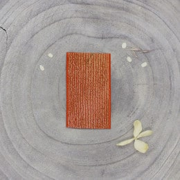 Elastique doré - Tangerine