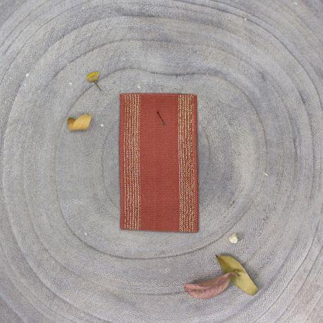 Élastique à rayures - Chestnut
