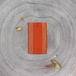 Élastique à rayures - Tangerine