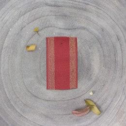 Élastique à rayures - Terracotta
