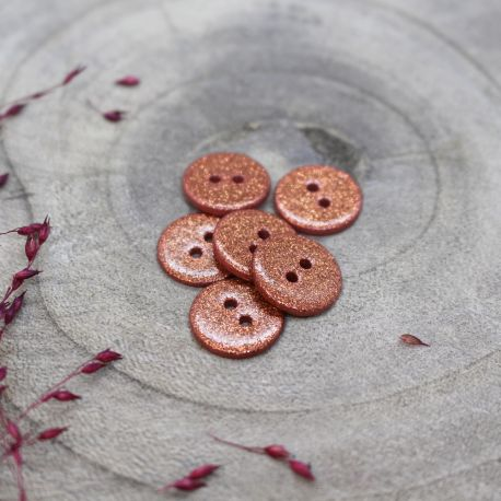 Glitter Buttons - Melba