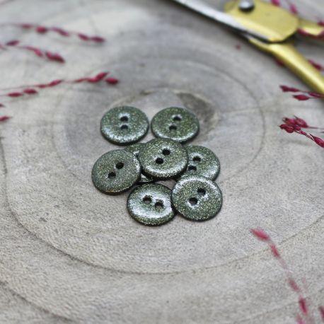 Glitter Buttons - Cedar