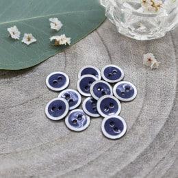 Halo Buttons - Cobalt