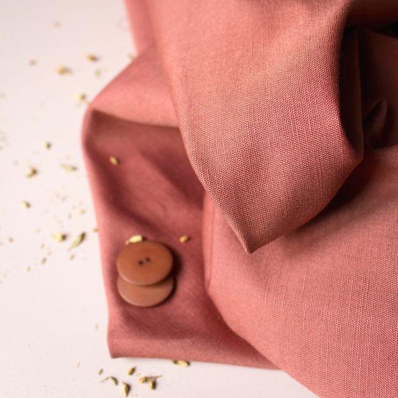 """Tissu """"Linen Chestnut"""""""