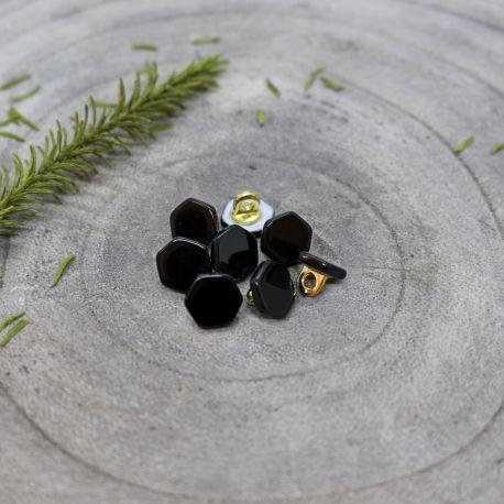 Quartz Buttons - Black