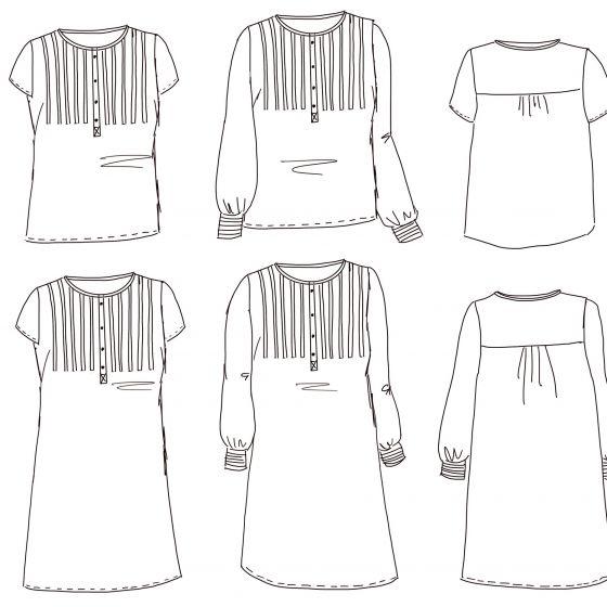 Atlas Dress/Blouse
