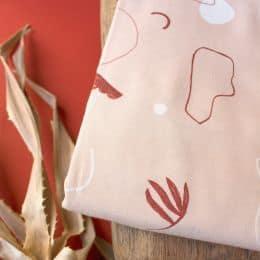 """Sandstorm Blush"" Fabric"