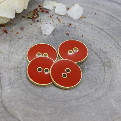 Joy Buttons - Tangerine