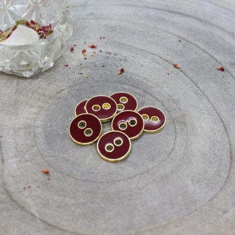 Joy Buttons - Amarante