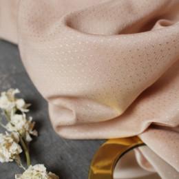 Dobby Blush Fabric Remnants