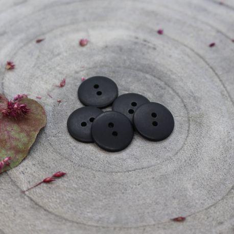 Classic Matte Buttons - Black