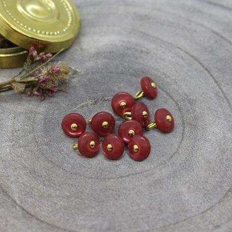 Boutons Jewel - Terracotta