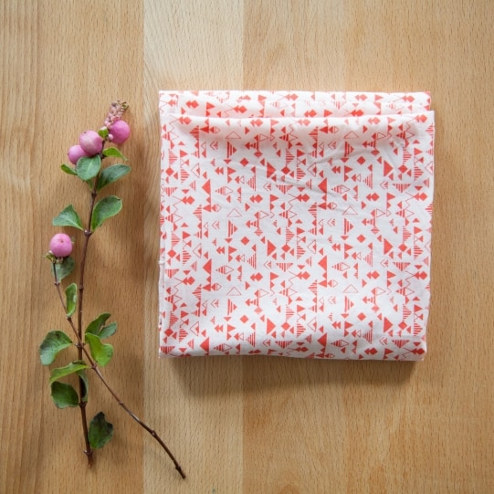 Shape Red Fabric