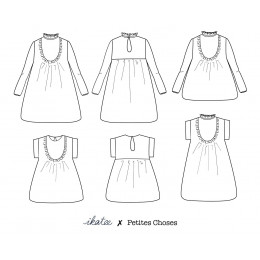 Ida blouse & dress Mum