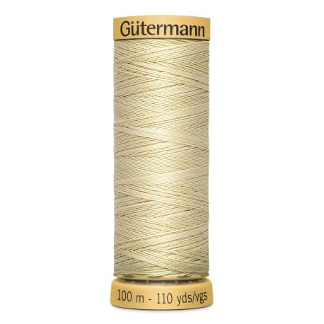 fil coton 100 m - n°828