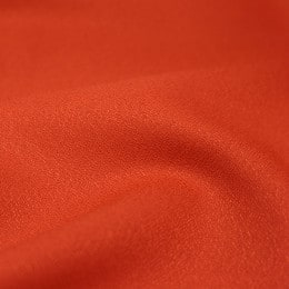 Crêpe Tangerine Fabric