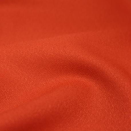 """Tissu """"Crepe Tangerine"""""""