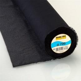 Vlieseline 700 - noir x 10 cm