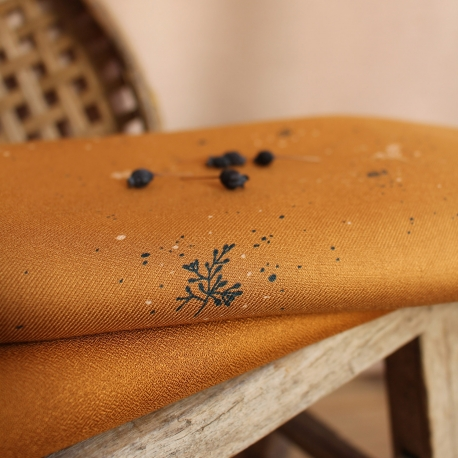 Twig Ochre Fabric