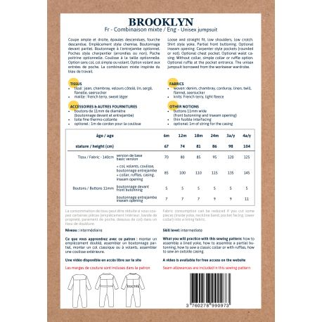 Brooklyn 6 mois-4 ans - fournitures