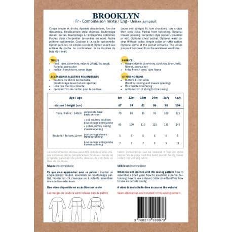 Combi Brooklyn 6 mois à 4 ans