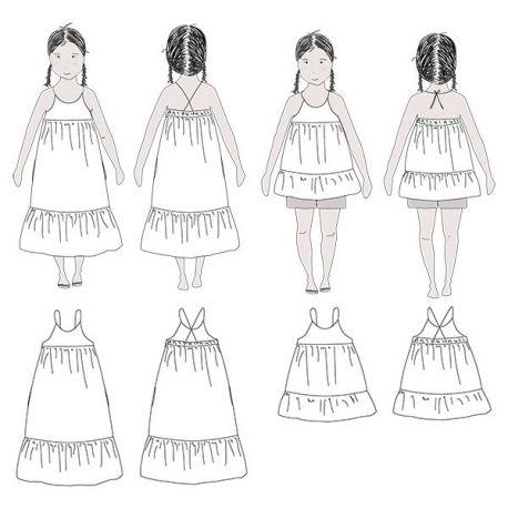 Léna blouse & dress girl