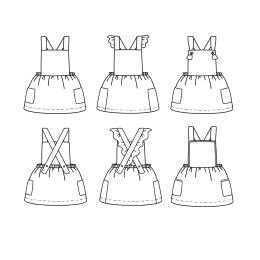 Milano Dress 6 m-4 yo
