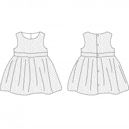 Roma Dress 6-24 m