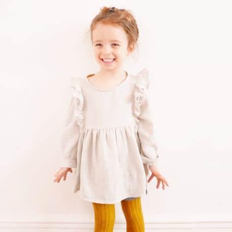 Stella Blouse & Dress 3-12 yo