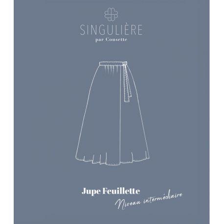 Jupe Feuillette