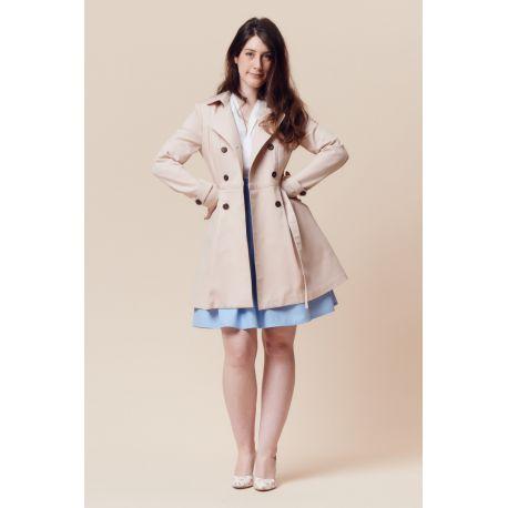 Luzerne trench coat pattern
