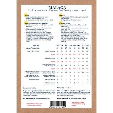 Malaga 1 mois-4 ans