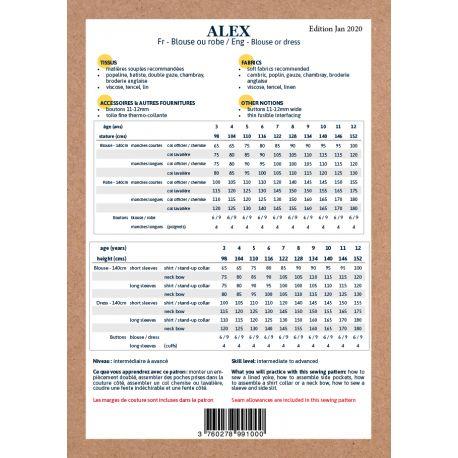 Alex  Dress & Blouse (3-12 years)