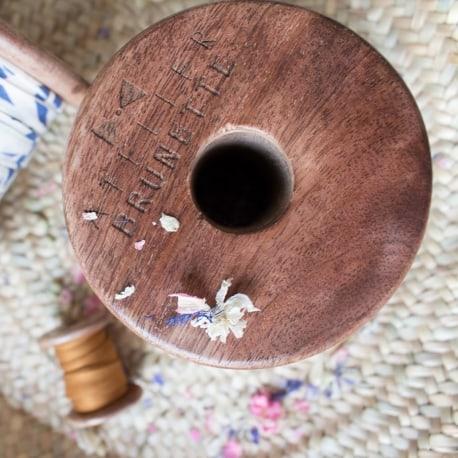 Limited Edition Atelier Brunette Wood Spool