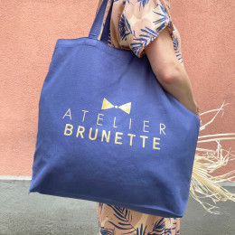 "Limited Edition Maxi Tote Bag ""Cobalt"""